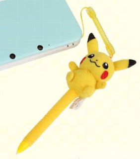 3DSLL Pikachu Stylus MoriGames