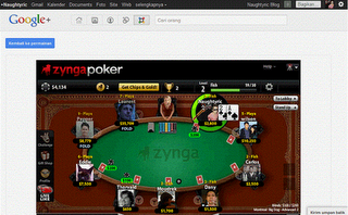 Zyngapoker google plus