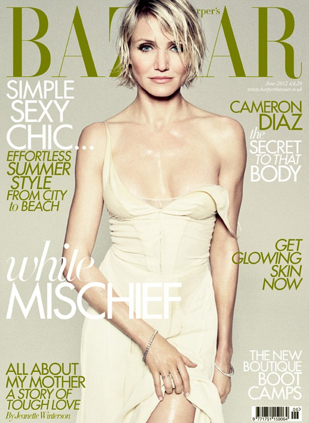 UK Harper's Bazaar June 2012: Cameron Diaz by Tom Munro