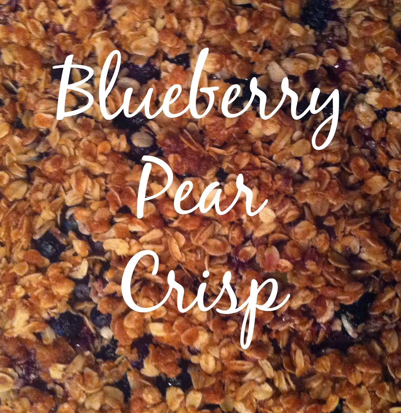 Blueberry Pear Crisp