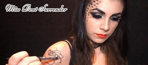 Tatuajes temporales de Kat Von D