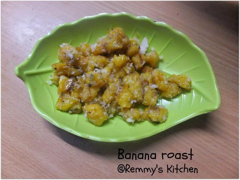 Pazham varattiyathu / Banana roast