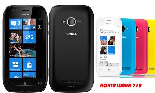 Harga Nokia Lumia 710: Rp. 2.850.000,-