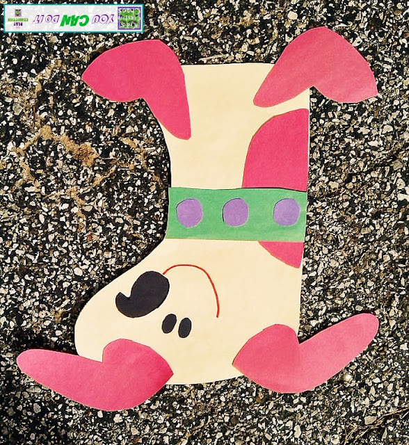 Cute Puppy Craft for Christmas