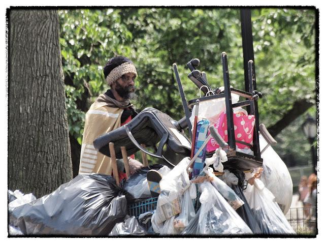 homeless, central park, new york city
