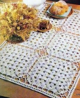 quadrados em croche em croche com receita