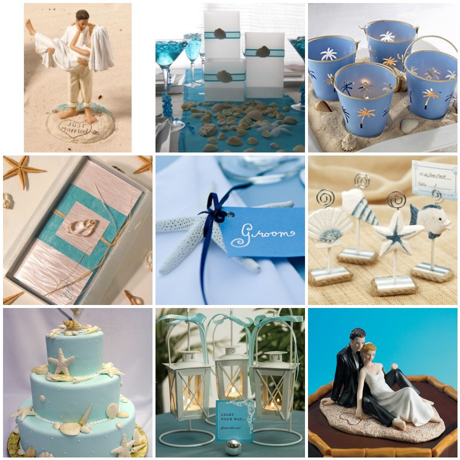 Beach Theme Wedding Decoration Ideas