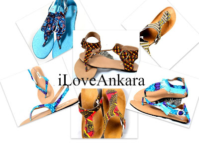 Sepha African Print Sandals