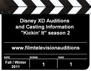 Disney auditions for Kickin It