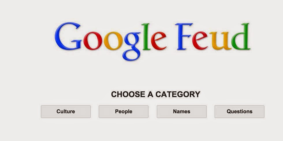 Google Feud a Game Based on Google Search Autocomplete