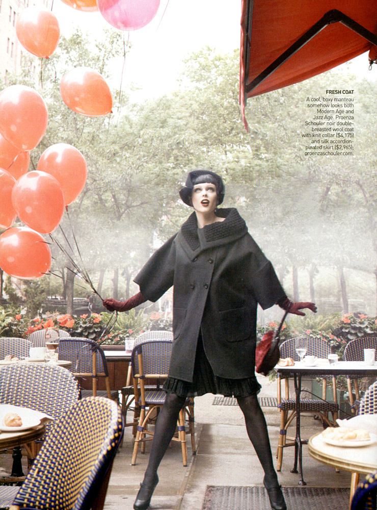 Coco Rocha in Vogue US September 2007 (phtography: Steven Meisel)