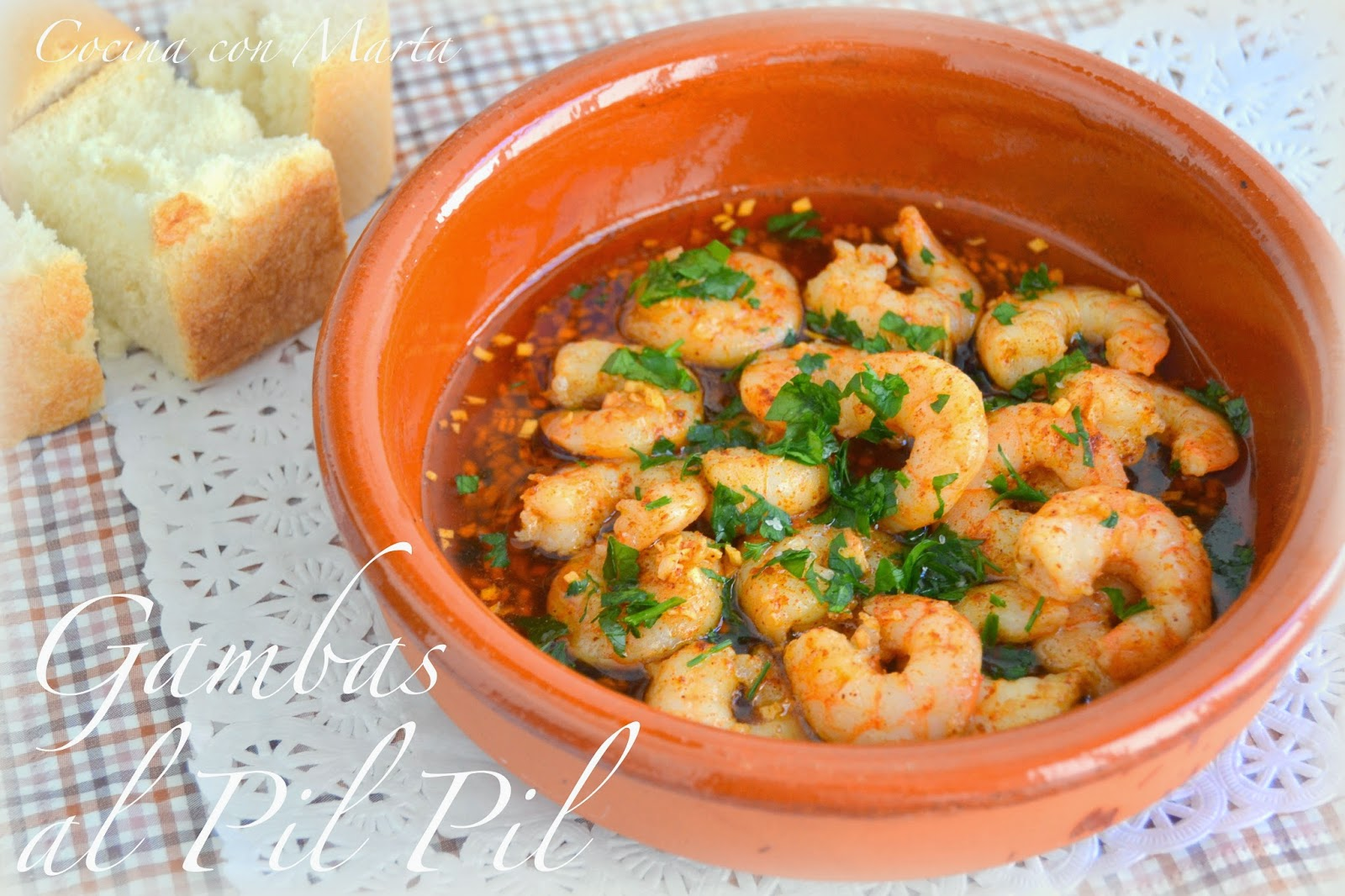 Gambas al pil pil for Ideas cocina rapida