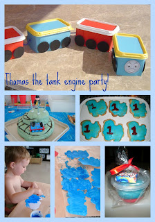 Thomas the Tank engine train party