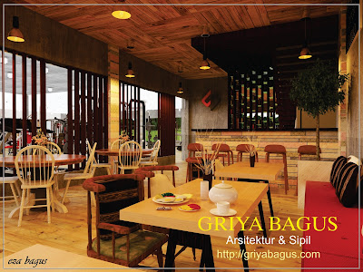 Interior Cafe Fitnes Jakarta view 2