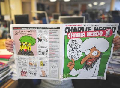 Majalah Kartun Nabi Muhammad Charlie Hebdo
