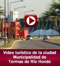 Descubrí Termas de Río Hondo, descubrí Santiago del Estero (institucional informativo)
