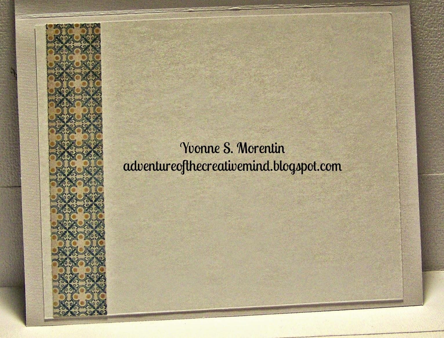 Yvonne S. Morentin- http://adventureofthecreativemind.blogspot.com/