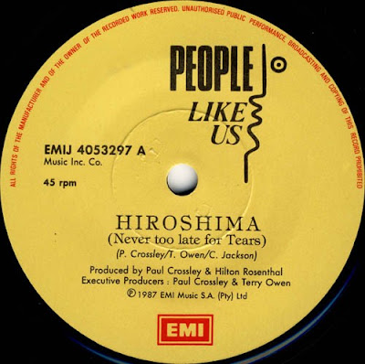People Like Us feat Cindy Dickenson - \'Hiroshima\' (Never Too Late For Tears) (12\'\' Maxi) 1987 Hi-Nrg Disco Eurobeat 80\'s \