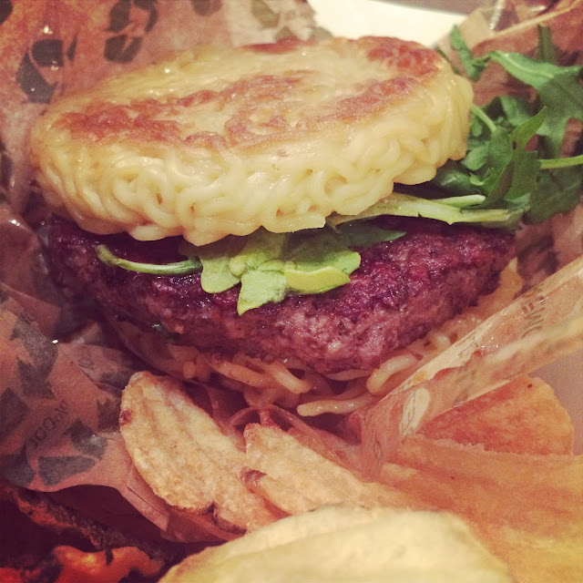 Ramen Co burger