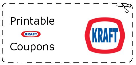 Printable Kraft Coupons