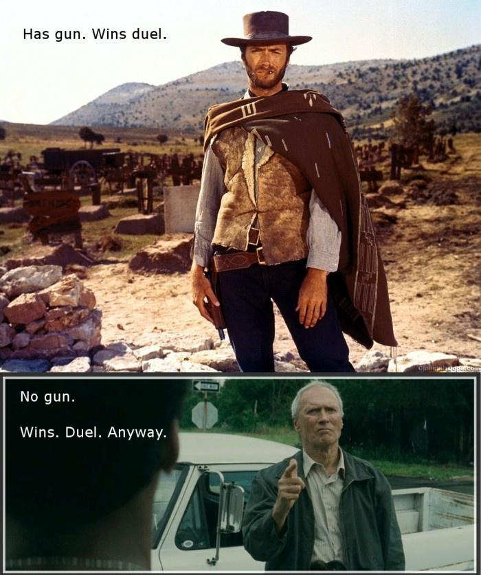 Badass Clint Eastwood