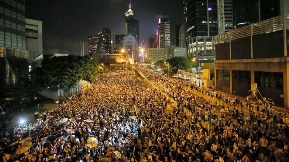 Protes Pro-demokrasi Terhadap Perluasan Hong Kong