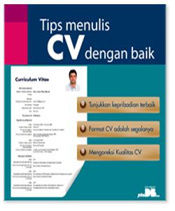 Contoh CV Lmaran Kerja Bahasa Inggris Terbaru
