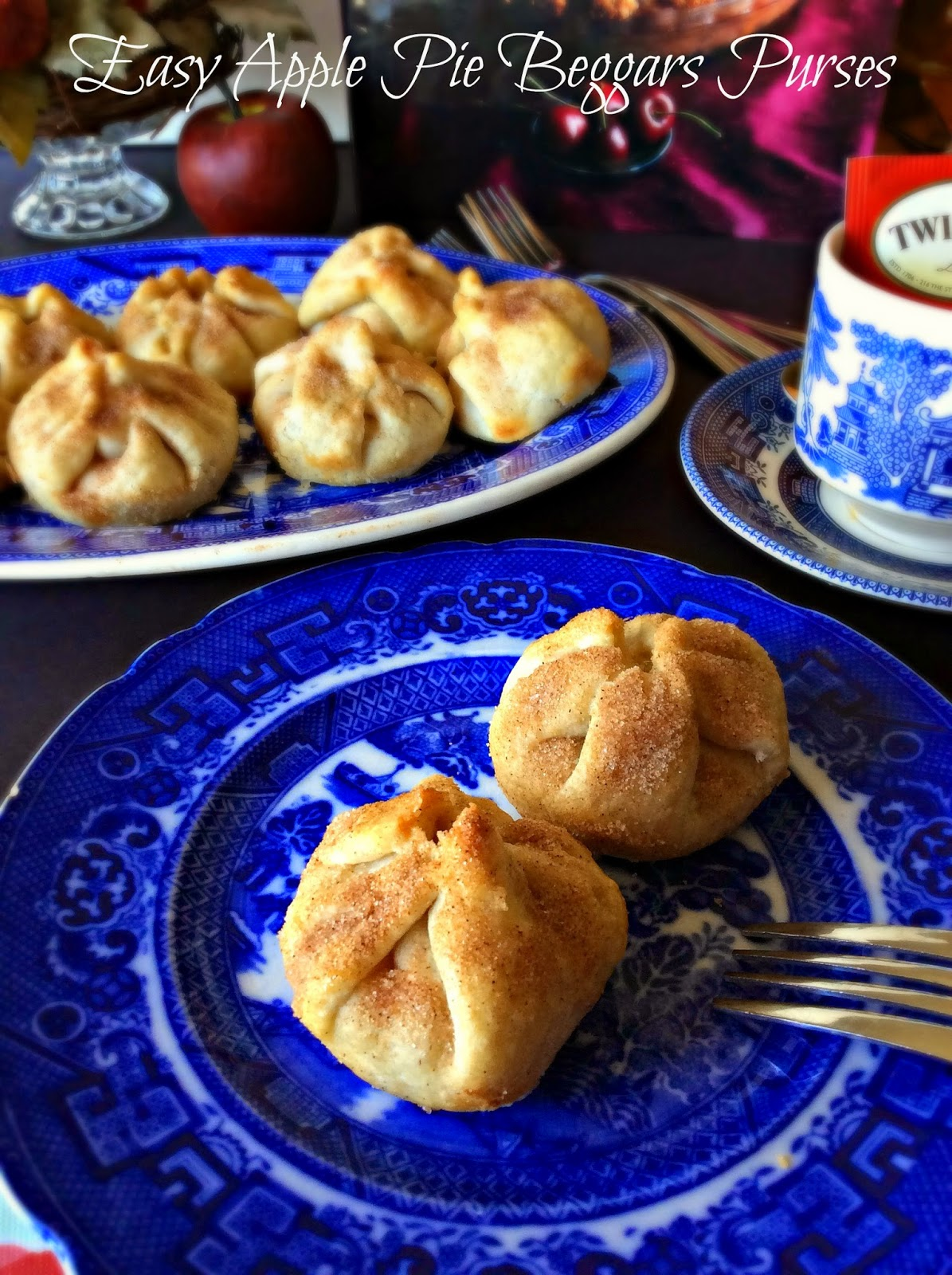 Cooking On A Budget: Easy Apple Pie Beggars Purses