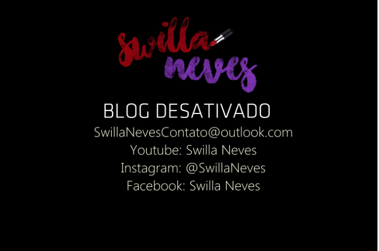 Blog Desativado!