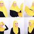 Contoh Tutorial Jilbab Modern ala Artis Indonesia