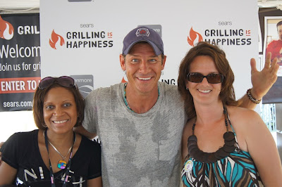 Sweaty Ty Pennington