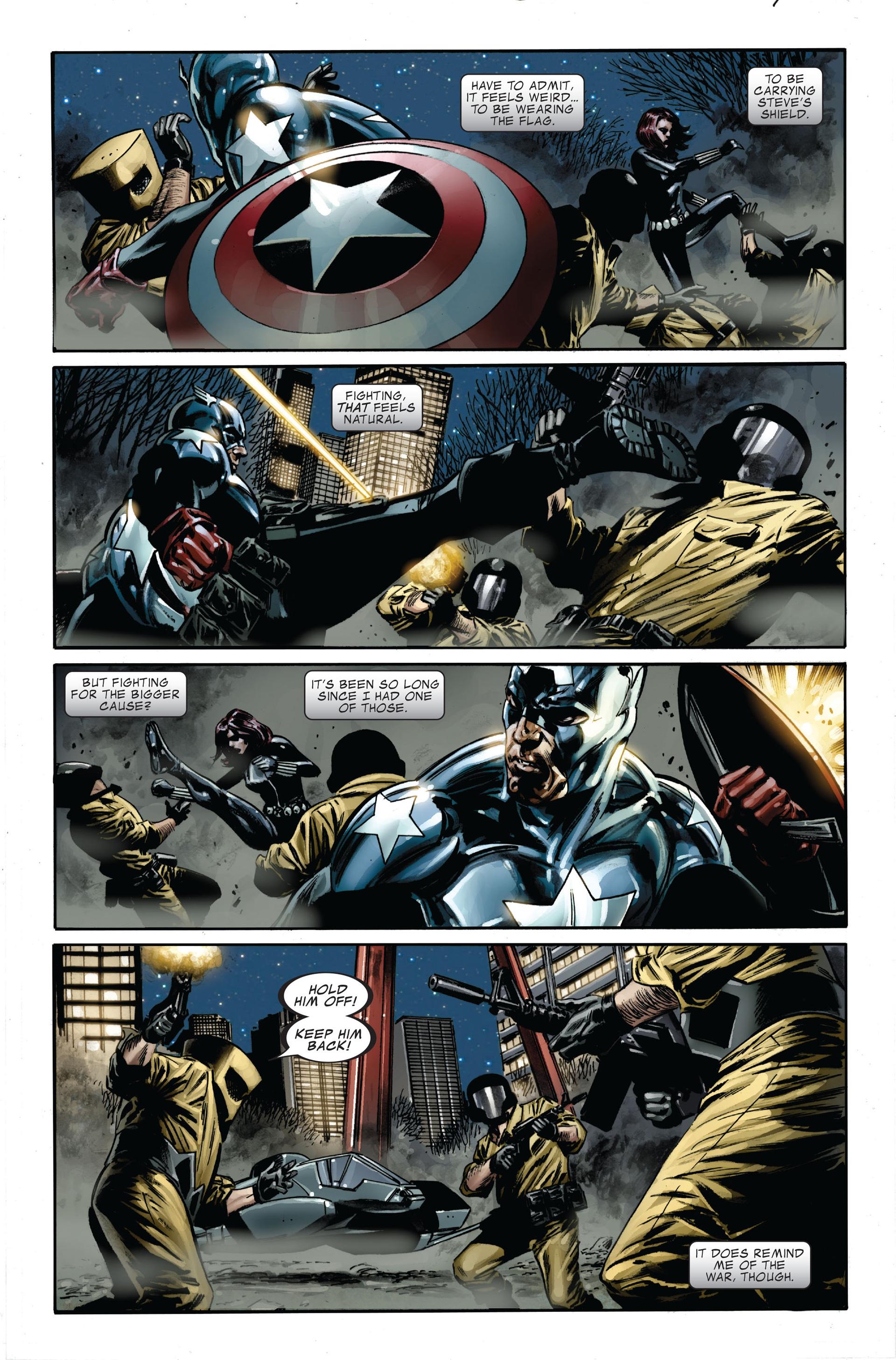 Captain America (2005) Issue #34 #34 - English 17