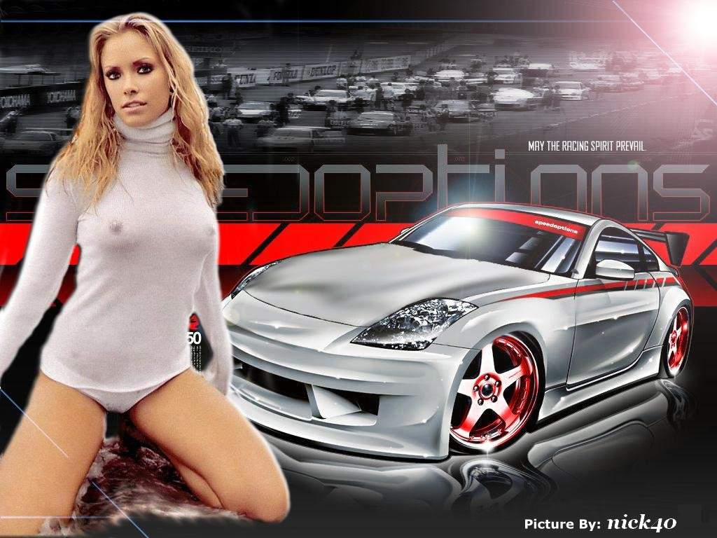 Sexy Girls And Stunning Cars Wallpapers Part V