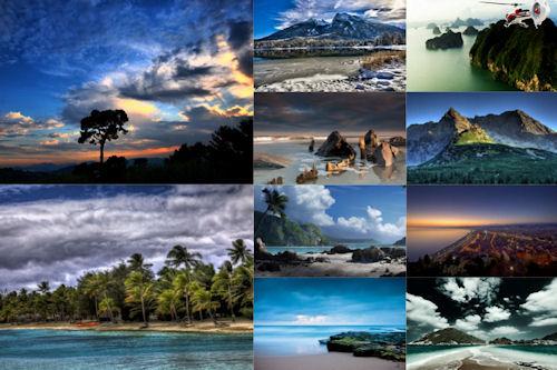 Los colores de nuestro planeta VII (10 paisajes)
