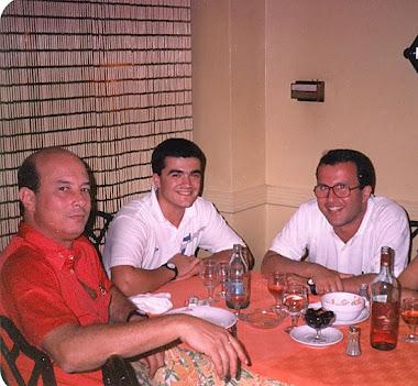 Año 88. Ary Vidal, Paco García, Felipe Coello