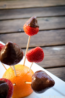 Fresas y chocolate - Receta facil