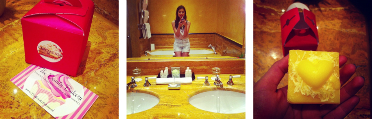 instagram impressions shotting blogger stylight barhroom soap