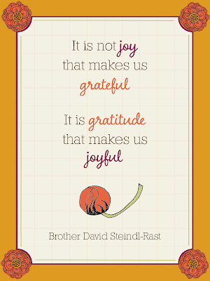 Grateful Life - Journaling Cards - Day 5