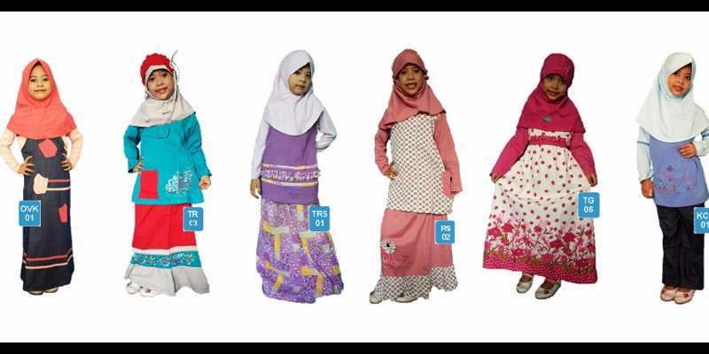 Catat! Pusat Grosir Baju Muslim Anak Murah di Jakarta