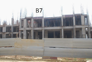 Amrapali Terrace Homes :: Construction Update b7