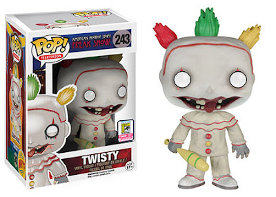 "San Diego Comic-Con 2015 Exclusive Pop! Vinyl Figures Wave 5 by Funko - American Horror Story: Freak Show ""Unmasked"" Twisty Pop! Television Vinyl Figure"