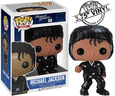 "Michael Jackson Pop! Rocks Vinyl Figures Wave 2 by Funko - ""Bad"" Michael"