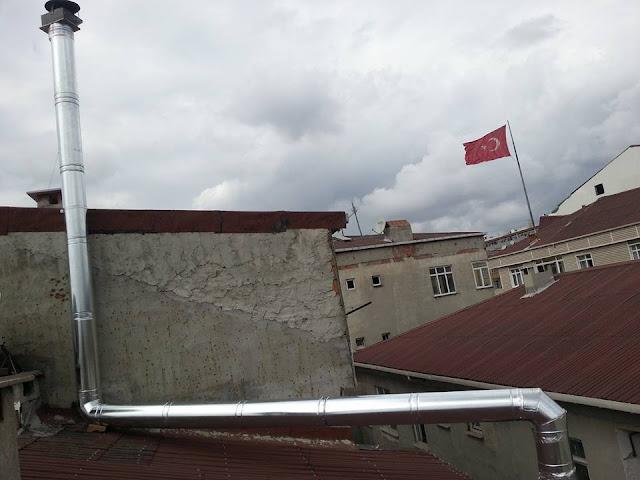 restaurant havalandırma borusu