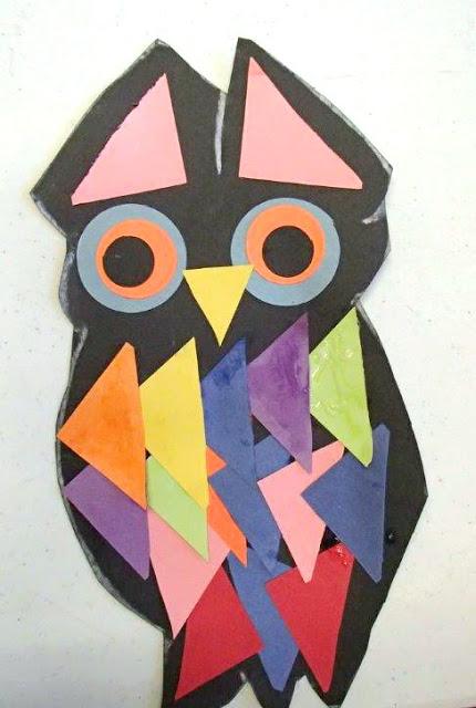 http://www.readingconfetti.com/2013/10/paper-owl-craft.html