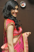 Adah Sharma Gorgeous in Pink Saree-thumbnail-19