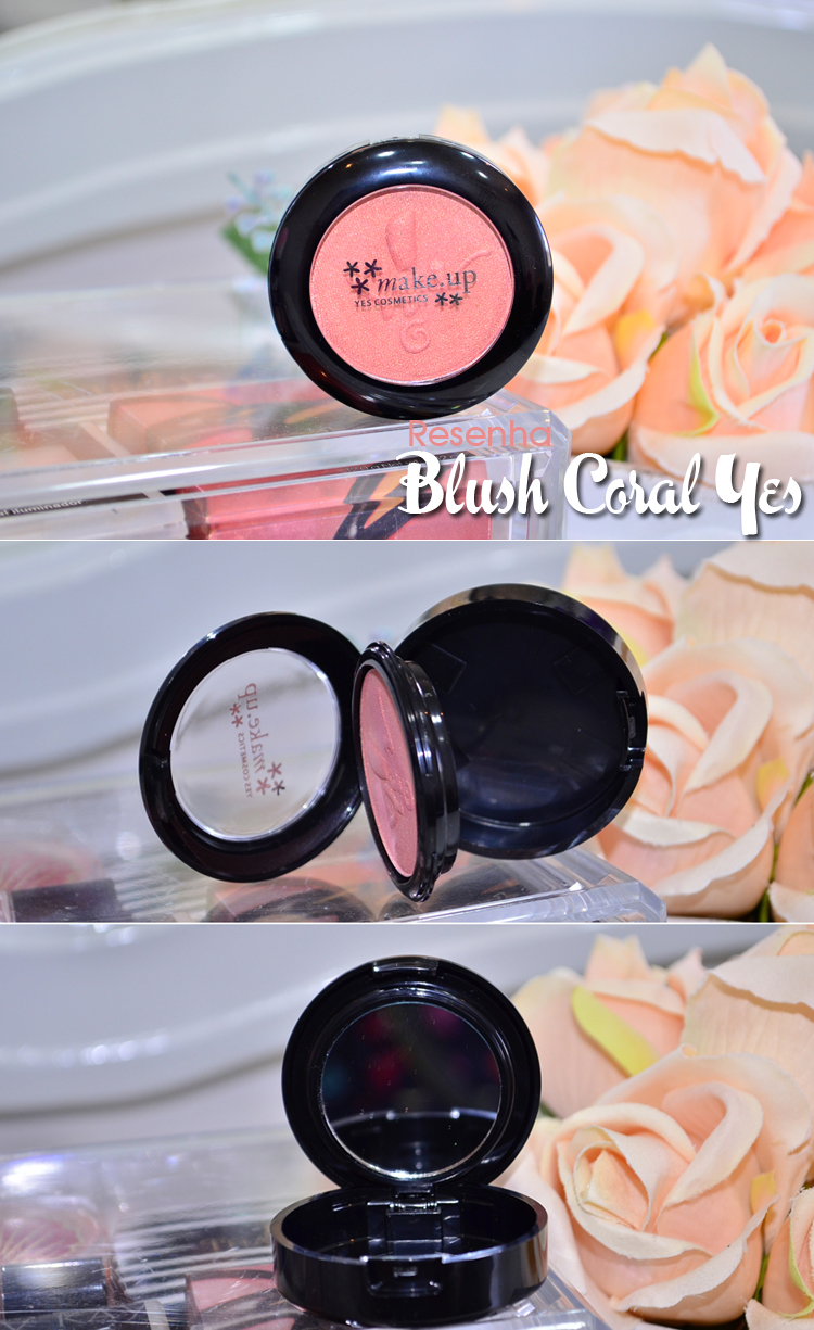 Resenha do Blush Coral da Yes