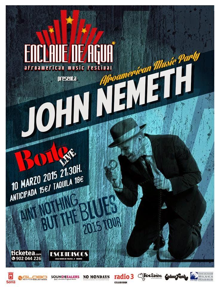 John Németh - Boite Live (10/03/2015)