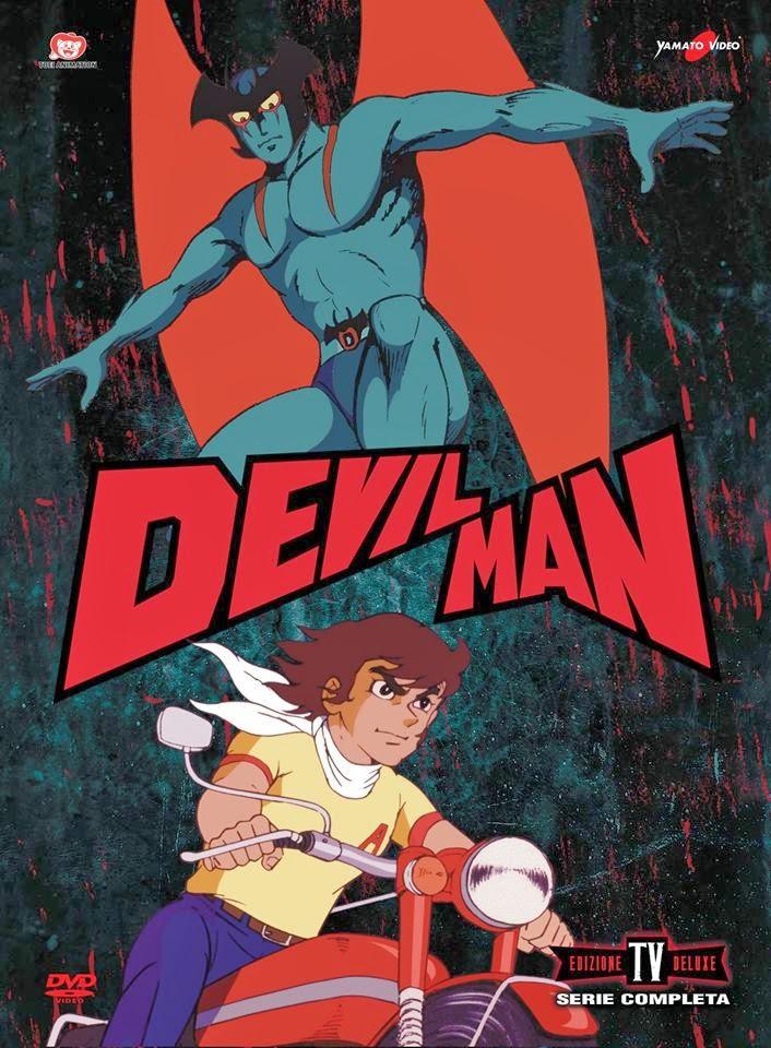 La copertina del lussuoso box dedicato a Devilman