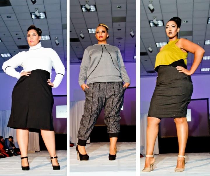 Haute Curves Fashion Show, Liesl Binx