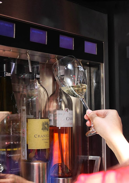 wine dispending machine planet grapes tuscany mckinley hill awesome secret foodies tour